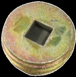 Deksel voor grondpot Ø76 mm