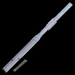 Flessenhalspaal 2200 mm boven de grond buispaal, flespaal, verkeersbordpaal, paal, paal met verjonging
