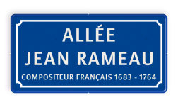Straatnaambord Frankrijk 600x300 Straatnaambord, Frans, Frankrijk, Naambord, Parijs, Lille