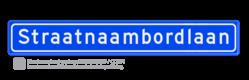 Straatnaambord 18 karakters 1000x150 mm NEN 1772 cadeau, kado, straat, eigen bord, straatnaamborden
