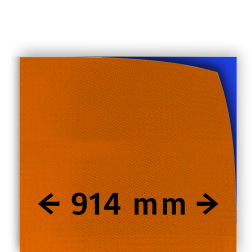 Reflecterende folie kl.3 oranje 914mm breed reflex, fluoricerend, reflecterend, retroreflex, retroreflecterend, retro, bordfolie, signface