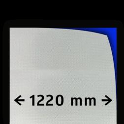 Reflecterende folie T-7500-B klasse 3 wit 1220mm breed reflex, fluoricerend, reflecterend, retroreflex, retroreflecterend, retro, bordfolie, signface