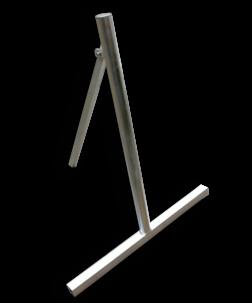 Verkeersbordstandaard EASY - Aluminium ø48x1200mm Bordstandaard, verkeersbord ezel,