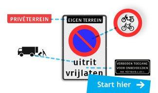 ontwerp uw verkeersbord