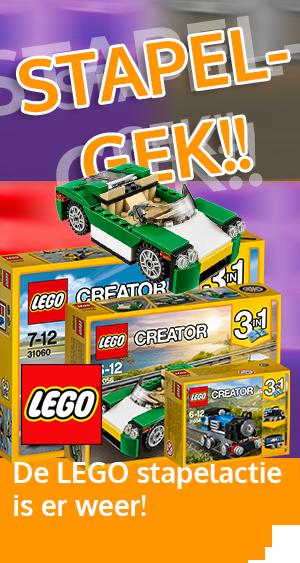 Stapelgekke LEGO-actie